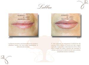 Trucco semipermanente labbra trattamento
