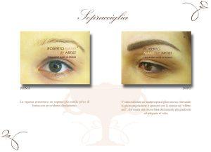 Tatuaggio semipermanente occhi