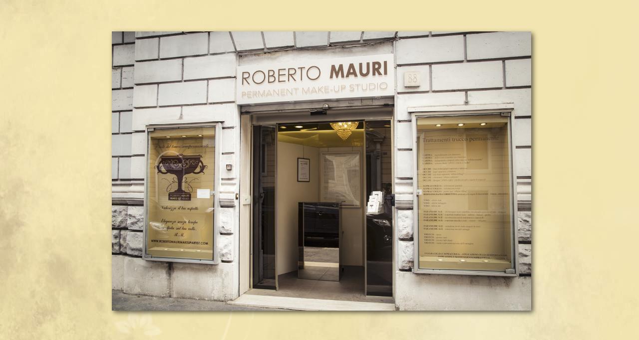 Roberto Mauri esterno studio