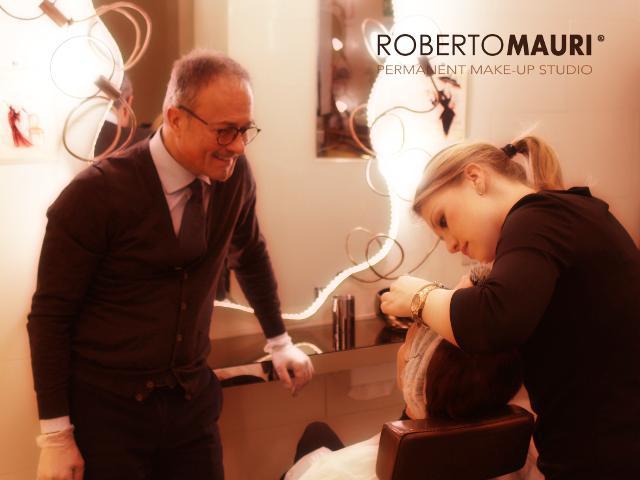 Preparazione al trattamento di trucco permanente - Roberto Mauri